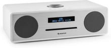 Stanford DAB-CD-Radio DAB+ Bluetooth USB MP3 AUX UKW vit