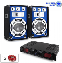 "PA-set Blue Star Series ""Basscore Bluetooth"" 1000 W"