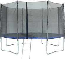 Studsmatta med säkerhetsnät - 425 cm