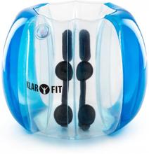Bubball KR Bubble Ball Uppblåsbar Fotboll barn 75x110cm EN71P PVC Blå