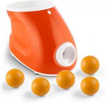 Bollkastarmaskin + 5 reservbollar set för hundar 3 längder 8 PU-bollar