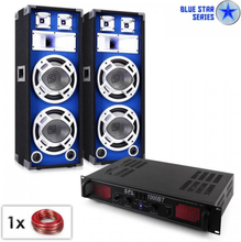 "PA-set Blue Star Series ""Basssound Bluetooth"" 1000 W"