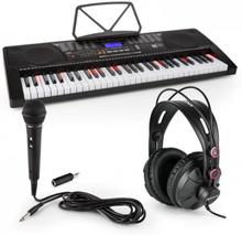 Etude 225 USB Inlärnings-keyboard med Hörlurar, mikrofon och JACK-adapter