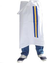 Midjeförkläde med Svenska flaggans färger