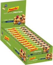 PowerBar Natural Protein Bar Box 24x40g Blueberry Nuts (Vegan) 2020 Näringstillskott & Paket
