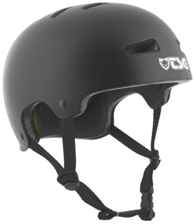 TSG Evolution Solid Hjelm - Sort