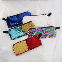 2019 New Super Pencil Writing Case Large Capacity Sequin Pencilcase Pen Bag School Supplies Pencils Box Pouch Stationery Girls