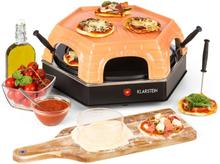 Capricciosa Pizzaugn 1500W Kåpa i Terrakotta Värmehållningsfunktion