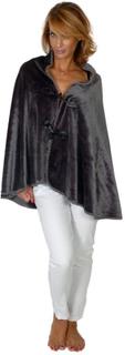 Cape Microfiber Sensoft Duffle Coat Silvergrå