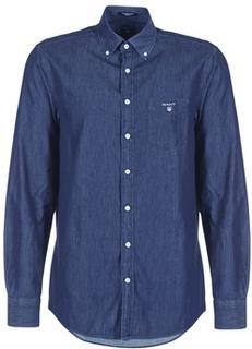 Gant Skjortor med långa ärmar THE INDIGO REG BD Gant