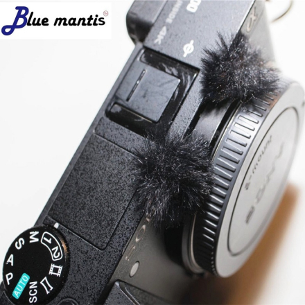Micromuff the original wind muffler for Sony DSC-rx100 deat cat wind muff microphone cover for series of Sony DSC-RX100
