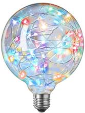 Nielsen Sprinkler Glob Ø125 mm LED 1W E27 RGB - Blinkande