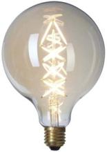 Nielsen Glob Zig Zag Ø125 mm LED 6W/922 (40W) E27 dimbar - Klar