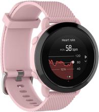 Suunto 3 fitness klokkereim av silikon med kornet tekstur - Rosa str S