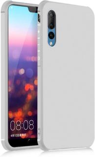 Huawei P20 Pro beskyttelses deksel av TPU - hvit