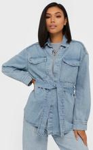 Gina Tricot Utility Denim Shirt Skjortor