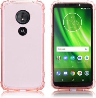 Motorola Moto G6 Play/Motorola Moto E5 mobilskal silikon transparent - Rosa