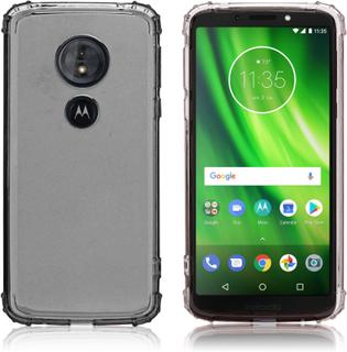 Motorola Moto G6 Play/Motorola Moto E5 mobilskal silikon transparent - Grå