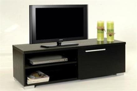 Tv bænk sort small