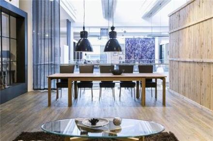 Lux spisebord- langbord 100x200/404 cm. oliebehandlet eg - KAN BLIVE KÆMPESTORT