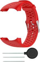 Polar M430 klokkereim av myk silikon - rød