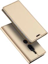 DUX DUCIS Sony Xperia XZ2 Premium beskyttelses deksel av syntetisk skinn - gull