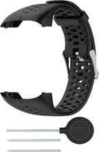 Polar M430 klokkereim av myk silikon - svart