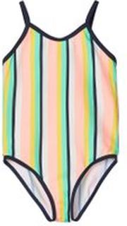 Name It - Gestreifter Badeanzug - Pink - Mädchen - Größe 74/80