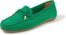 Loafers oxmocka från Peter Hahn grön