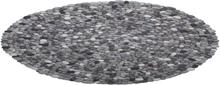 Matto pyöreä harmaa 140cm AMDO