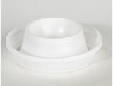 Äggkopp plast vit 100/FP