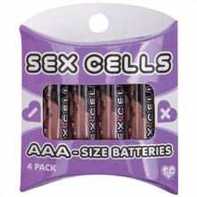 4 x AAA Alkaline Sex Cell Batteries