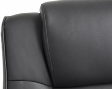 Beliani Kontorsstol med massagefunktion svart COMFORT