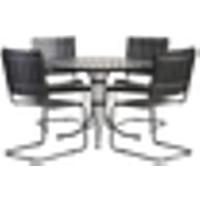 Ruokailuryhmä Torino, 4 tuolia ja pöytä
