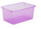 Förvaringsbox Store It 5L transp. Rosa