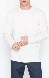 Topman Cream Skater T-Shirt Gensere Cream