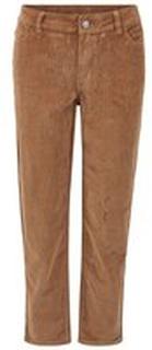 VILA Beskurna Straight Fit-jeans Kvinna Brun