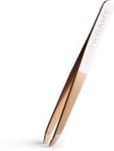 Browgame Cosmetics Prestige Slanted Tweezer Rosé
