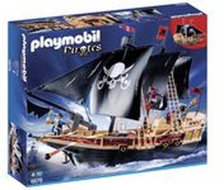 Piratskepp Playmobil