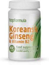 Topformula | Koreansk Ginseng + B2