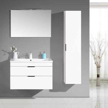 Tvättställsskåp/kommod AA - Högglans vit - 60cm