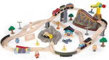 Kidkraft - Tågbana - Bucket Top Construction Train Set