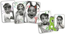 Djeco - Kortspelet Grimaser