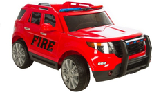 Azeno - Elbil - SUV Fire