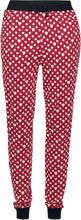 Mickey Mouse - Minni Polka Dots -Pyjamasbukser - rød, hvit