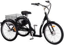Trehjulig elcykel med 7 växlar - 250W