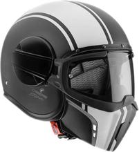 Caberg Motorcykelhjälm Ghost Legend, black/white, small MC-tillbehör
