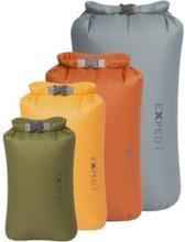 packpåsar vattentäta set, Exped Fold Drybag 4-Pack (Xs, S, M, L)