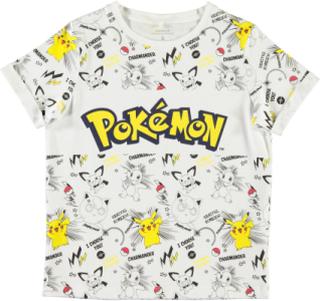 T-shirt Pokemon Storm, Bright white, Name it