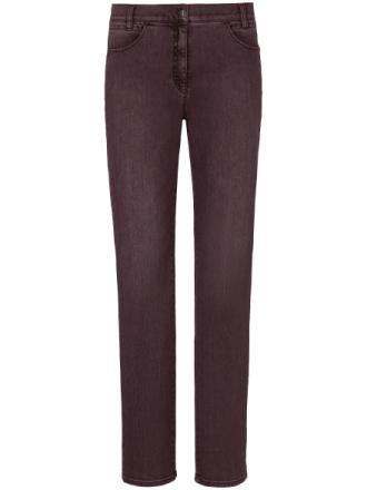 Feminine Fit-jeans, modell Carola Brilliant från Brax Feel Good röd